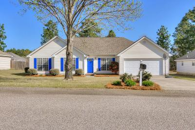 North Augusta Single Family Home For Sale: 180 Hunters Xing