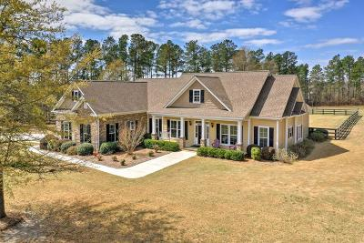 Aiken Single Family Home For Sale: 140 Fox Tail Court