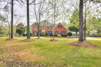 Aiken Single Family Home For Sale: 1753 Silver Bluff Road