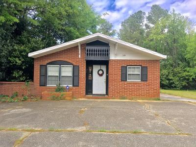 North Augusta Commercial For Sale: 520 Belvedere Clearwater Road