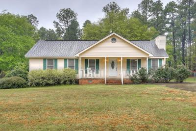 Aiken Single Family Home For Sale: 1084 Northbrook Drive
