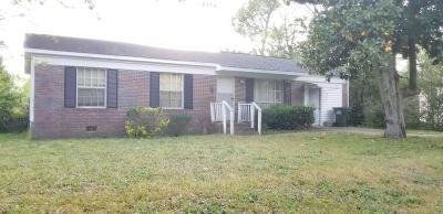 Aiken Single Family Home For Sale: 921 Robinhood Trail