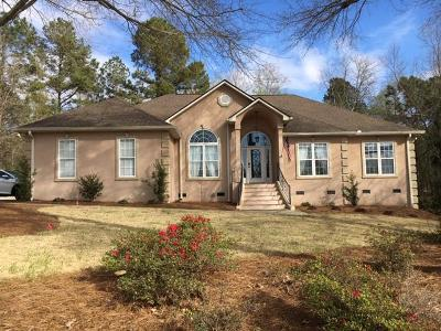 Aiken Single Family Home For Sale: 161 Tall Pine Drive