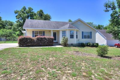 North Augusta Single Family Home For Sale: 338 Copeland Circle