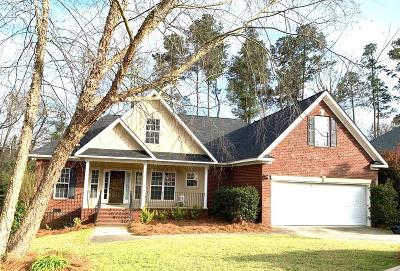 North Augusta Single Family Home For Sale: 228 Bridle Path Rd