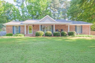 North Augusta Single Family Home For Sale: 517 Greenbriar Drive