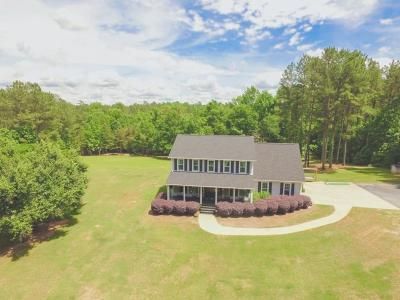 North Augusta Single Family Home For Sale: 16 Cheves Creek Road