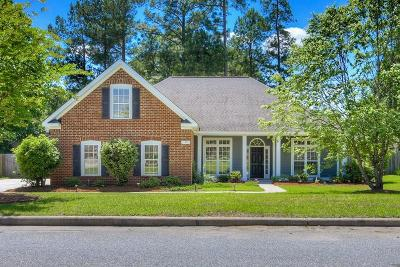 North Augusta Single Family Home For Sale: 155 Millwood Ln