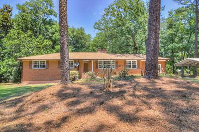 Aiken Single Family Home For Sale: 1730 Ridgecrest Ave SW
