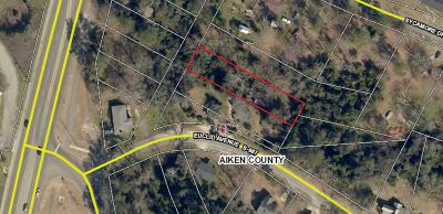 North Augusta Residential Lots & Land For Sale: 207 Euclid Avenue
