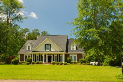 North Augusta Single Family Home For Sale: 55 Whispering Woods Drive