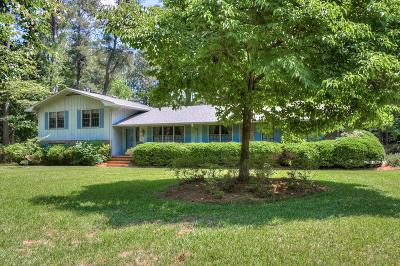 North Augusta Single Family Home For Sale: 4 Sedgewood Ct.