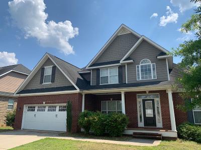 Aiken Single Family Home For Sale: 5011 Fairfield Ct