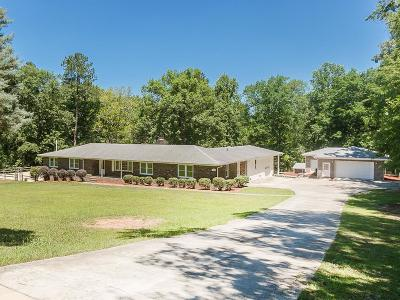 North Augusta Single Family Home For Sale: 1550 Stevens Creek Drive