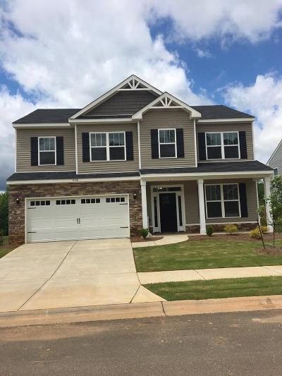 North Augusta Single Family Home For Sale: 1106 Gregory Landing Drive