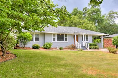 Aiken Single Family Home For Sale: 553 Palmetto Ln SW
