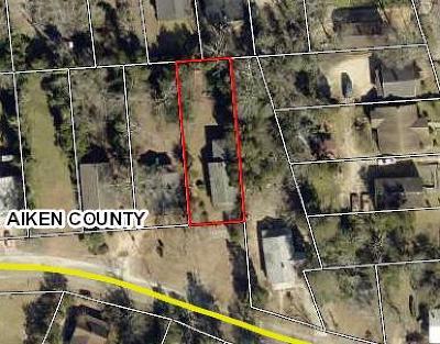 Aiken Single Family Home For Sale: 424 Ridge Avenue NW