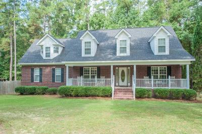 North Augusta Single Family Home For Sale: 3 Phenix Court