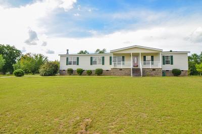 Aiken Single Family Home For Sale: 163 Hill Road