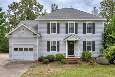 North Augusta Single Family Home For Sale: 615 Ridgefield Drive