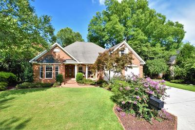 North Augusta Single Family Home For Sale: 118 Savannah Pointe