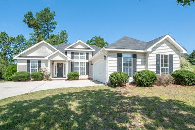 North Augusta Single Family Home For Sale: 5247 Silver Fox Way