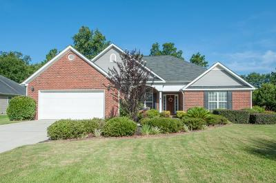 Aiken Single Family Home For Sale: 2113 Lavender Lane