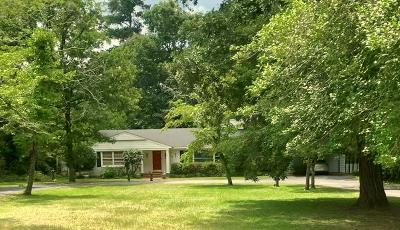 Aiken Single Family Home For Sale: 927 Two Notch Road