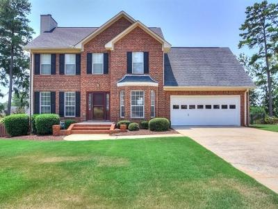 North Augusta Single Family Home For Sale: 314 Bridle Path Road