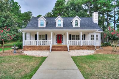 Aiken Single Family Home For Sale: 2134 Silver Bluff Road