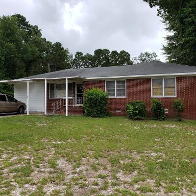New Ellenton Single Family Home For Sale: 308 Robinson Drive