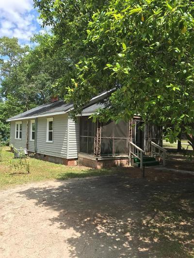Aiken Single Family Home For Sale: 824 Barnwell Avenue NE