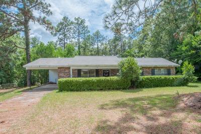 North Augusta Single Family Home For Sale: 596 Kershaw Drive