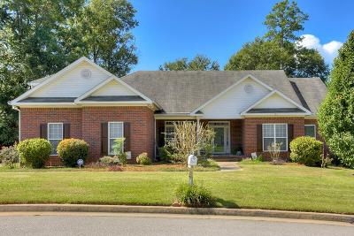 North Augusta Single Family Home For Sale: 569 Hugh Street