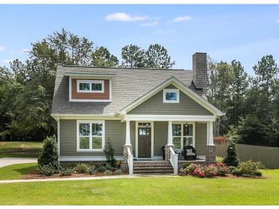 North Augusta Single Family Home For Sale: 1096 Stephens Road