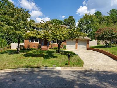 North Augusta Single Family Home For Sale: 815 Greenwood Drive