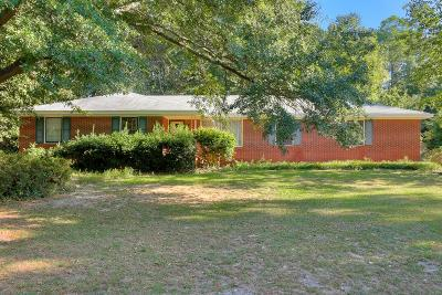 Aiken Single Family Home For Sale: 2014 Pine Log Road