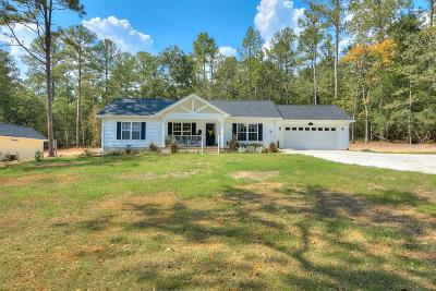 Aiken Single Family Home For Sale: 731 Wrights Mill Road