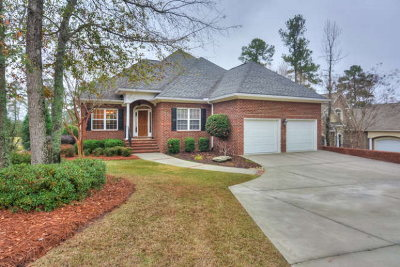 Aiken Single Family Home For Sale: 157 East Pleasant Colony