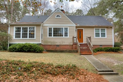 Aiken Single Family Home For Sale: 3216 Colonial Drive