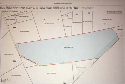 Edgefield County Residential Lots & Land For Sale: 243 Sandy Springs Road