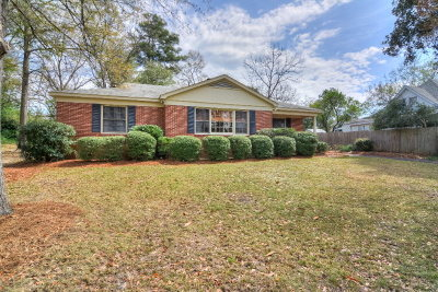 Aiken Single Family Home For Sale: 124 Trafalgar Street SW