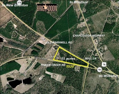 Residential Lots & Land For Sale: 00 Old Barnwell Rd And Tinker Road
