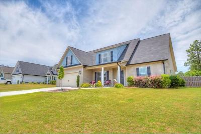 North Augusta Single Family Home For Sale: 7915 Canary Lake Rd