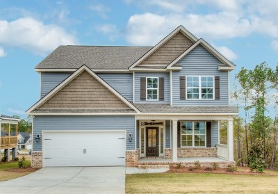 North Augusta Single Family Home For Sale: 3124 Lake Norman Drive