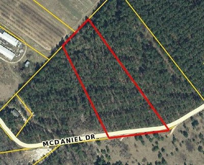 Edgefield County Residential Lots & Land For Sale: McDaniel Drive