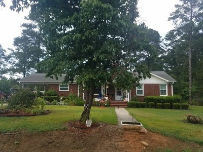 Edgefield County Single Family Home For Sale: 139 Oak Hill Street