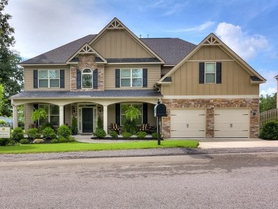 Aiken Single Family Home For Sale: 2355 Chukker Creek Road