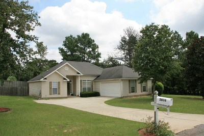 North Augusta Single Family Home For Sale: 5036 Silver Fox Way
