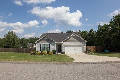 North Augusta Single Family Home For Sale: 315 Fox Chase Circle